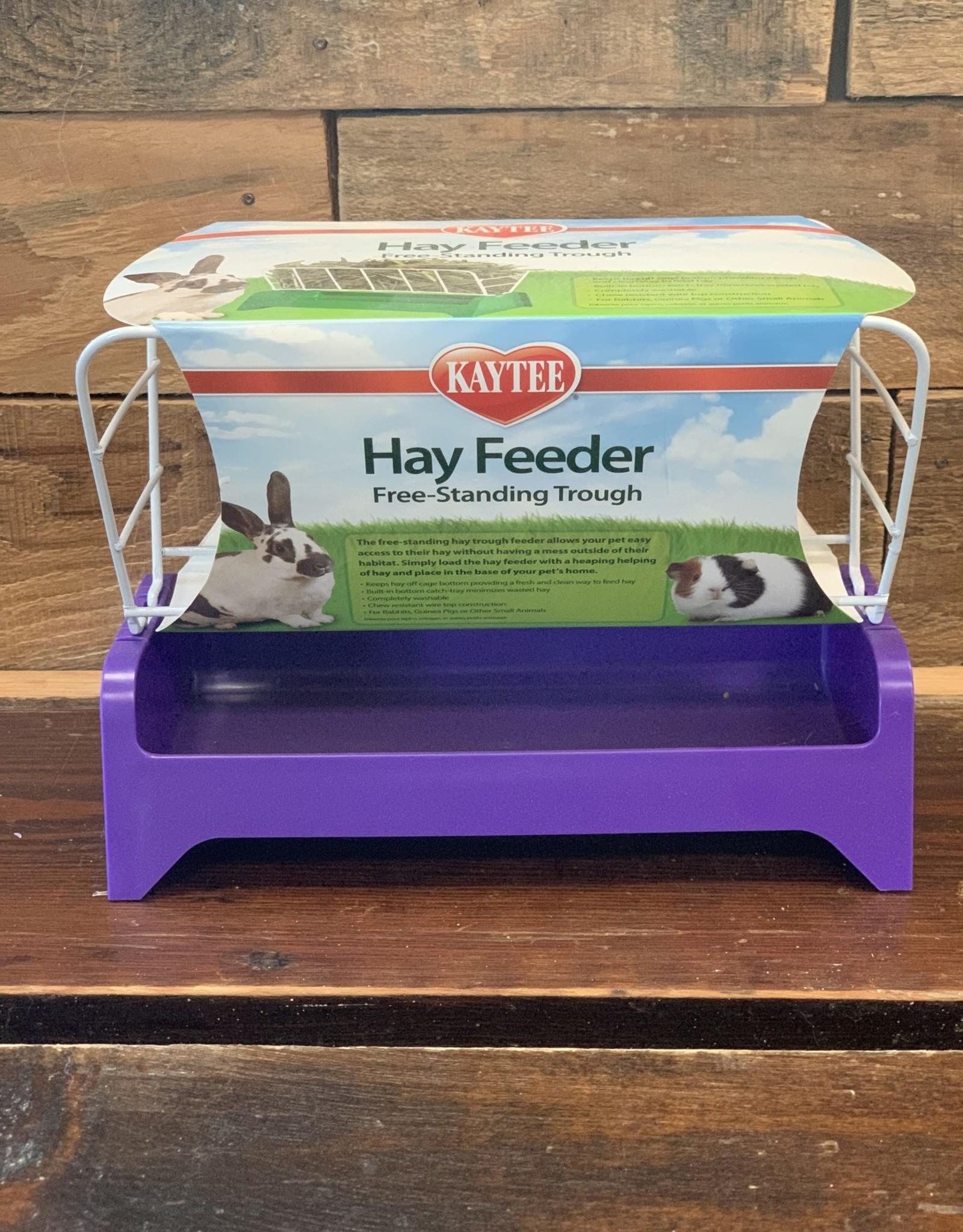 Kaytee Hay Feeder Trough Free Standing