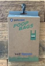 PetCrest Poop Bag Eco Handle 120ct