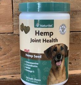Naturvet Hemp Joint Chew Jar 120ct