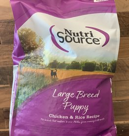 Nutrisource Nutrisource 30# Large breed puppy