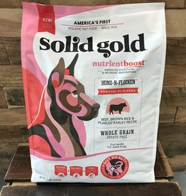 Solid Gold Solid Gold NutrientBoost Hund-n-Flocken Beef dog 24#