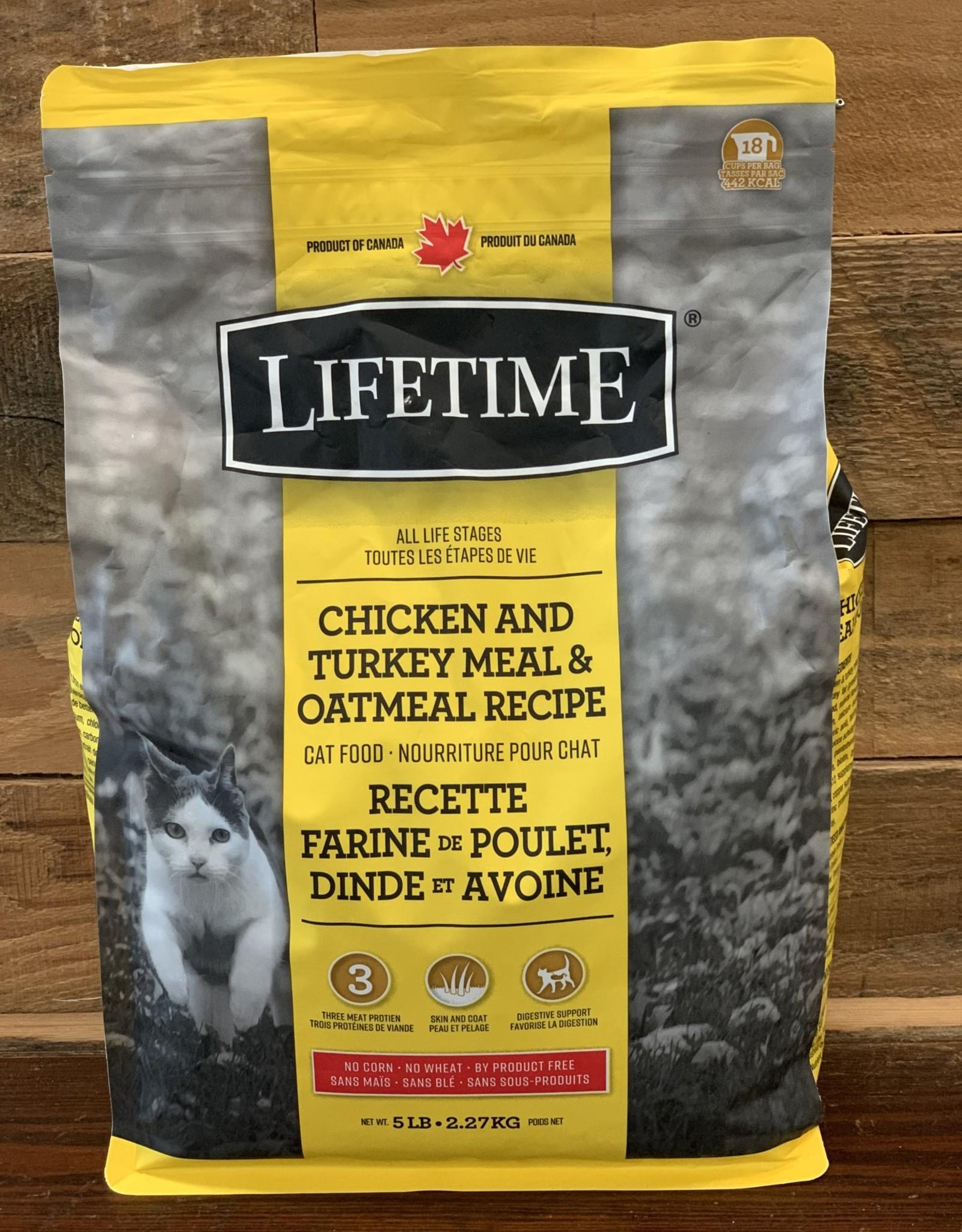 Victor Pet food LifeTime Chicken, Turkey, & Oatmeal Cat 4#