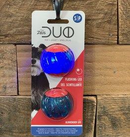 Zeus Zeus Duo Ball w/LED 2in 2pk