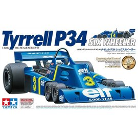TAMIYA TAM 12036 TYRELL 6 WHEEL 1/12 KIT