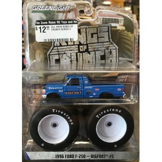 GREENLIGHT COLLECTABLES GLC 49040BW BIGFOOT LARGE WHEELS 1/64 SCALE