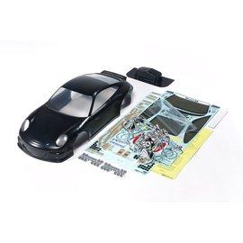 TAMIYA TAM 47365 Porsche 911 GT3 Cup VIP 2007  Body Set, Black