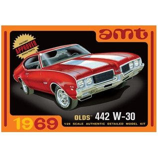 AMT AMT 1105 OLDSMOBILE 442 W30 MODEL KIT