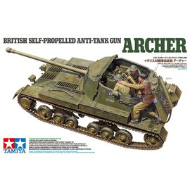 TAMIYA TAM 35356 1/35 British Self-Propelled Anti-Tank Gun Archer MODEL KIT