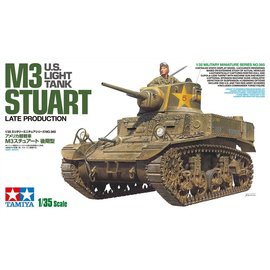 TAMIYA TAM 35360 M3 STUART TANK 1/35 MODEL KIT
