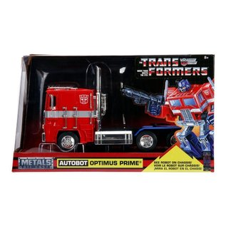 JADA TOYS JAD 99524 OPTIMUS PRIME 80'S VERSION DIECAST 1/24 SCALE