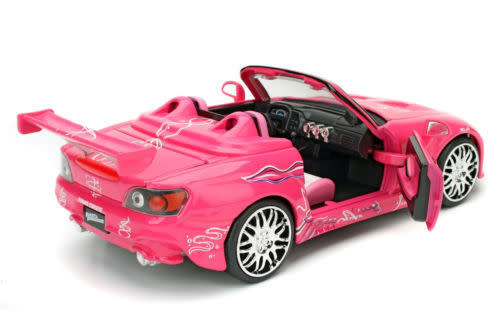Honda S2000 Fast and the Furious Suki /& Pink 1:24 Jada Toys 97604