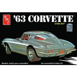 AMT AMT 861 1963 CORVETTE 1/25 MODEL KIT