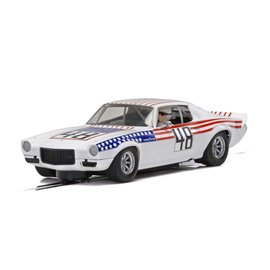 SCALEXTRIC SCA C4043 1970 CAMAROSTARS-STRIPES 1/32 SLOT CAR