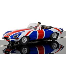 SCALEXTRIC SCA C3878 SHAG JAG 1/32 SLOT CAR