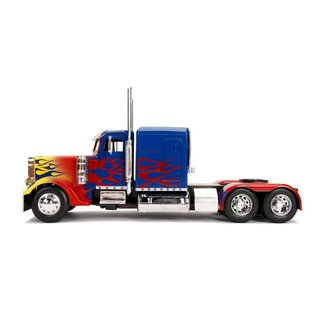 GREENLIGHT COLLECTABLES JAD 30446 OPTIMUS PRIME 1/24 TRANS 1 DIECAST