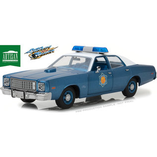 GREENLIGHT COLLECTABLES GLC 19044 PLYMOUTH FURY SMOKEY AND THE BANDIT 1/18