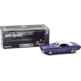 GREENLIGHT COLLECTABLES GLC 13515 GRAVEYARD CAR CHALLENGER 1/18