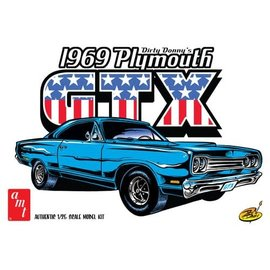 AMT AMT 1065 1/25 Dirty Donny 1969 Plymouth GTX model kit