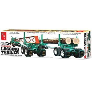 AMT AMT 1103 1/25 Peerless Logging Trailer model kit