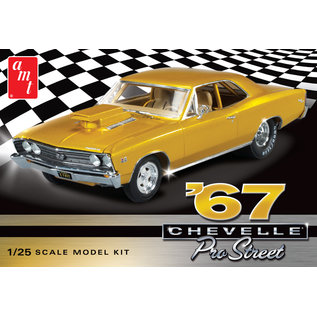 AMT AMT 876 1967 CHEVELLE 1/25 MODEL KIT