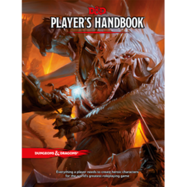 DUNGEONS & DRAGONS WTC A9217 D&D PLAYER'S HANDBOOK