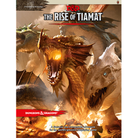 DUNGEONS & DRAGONS WTC A9607 D&D THE RISE OF TIAMAT