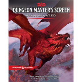 DUNGEONS & DRAGONS WTC C3687 D&D DUNGEON MASTER'S SCREEN REINCARNATED