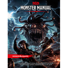 DUNGEONS & DRAGONS WTC A9218 D&D MONSTER MANUAL