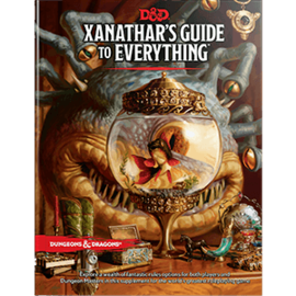 DUNGEONS & DRAGONS WTC C2209 D&D XANATHAR'S GUID TO EVERYTHING