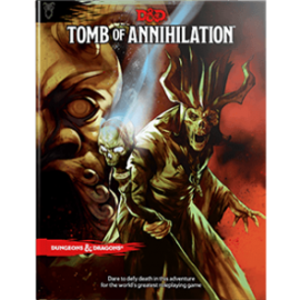 DUNGEONS & DRAGONS WTC C2208 D&D TOMB OF ANNIHILATION