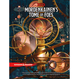 DUNGEONS & DRAGONS WTC C4594 D&D MORDENKAINEN'S TOME OF FOES