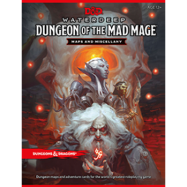 DUNGEONS & DRAGONS WTC C6052 D&D WATERDEEP MAD MAGE MAPS