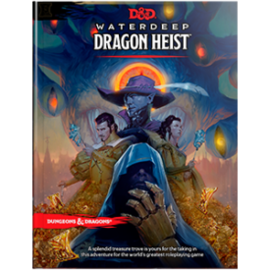 DUNGEONS & DRAGONS WTC C4658 D&D WATERDEEP DRAGON HEIST BOOK