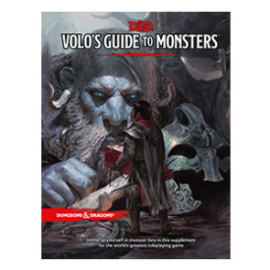 DUNGEONS & DRAGONS WTC B8682 D&D VOLO'S GUIDE TO MONSTERS