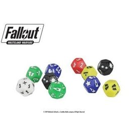 MODIPHUS MUH 051279 DICE PACK FALLOUT