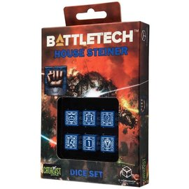 CATALYST GAMES CAT QWSBST82  BATTLETECH HOUSE STEINER DICE