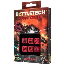 CATALYST GAMES CAT QWSBKU04 BATTLETECH HOUSE KURITA DICE