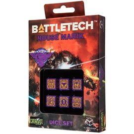 CATALYST GAMES CAT QWSMA80 BATTLETECH HOUSE MARIK DICE