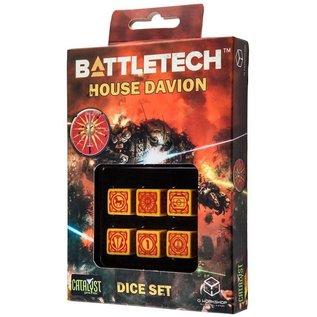 CATALYST GAMES CAT QWSBDA31 BATTLETECH HOUSE DAVION DICE