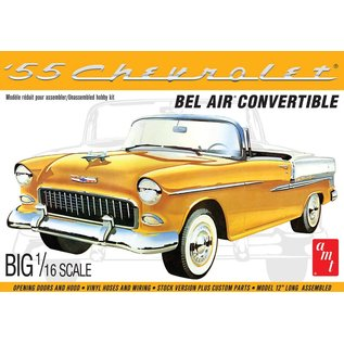 AMT AMT 1134 1/16 1955 Chevy Bel Air Convertible model kit