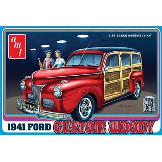AMT AMT 906 1941 FORD WOODY 1/25 MODEL KIT