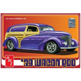 AMT AMT 1050/12 1/25 1939 Wagon Rod MODEL KIT