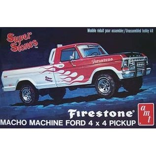 AMT AMT 858 1978 FORD 4X4 PUP 1/25 MODEL KIT