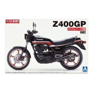 AOSHIMA AOS 54567 KAWASAKI Z400GP 1/12 SCALE MODEL KIT