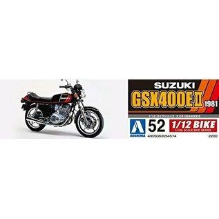 AOSHIMA AOS 54574 SUZUKI GSX400E 2 MODEL KIT