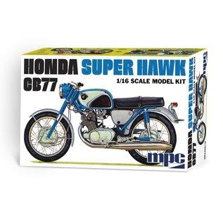 MPC MPC 898 1/16 Honda Super Hawk Motorcycle MODEL KIT