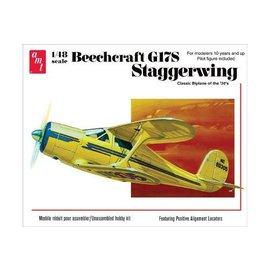 AMT AMT 886/12 1/48 Beechcraft G17S Staggerwing MODEL KIT