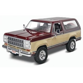 REVELL USA RMX 854372 1980 DODGE RAMCHARGER 1/25 SCALE