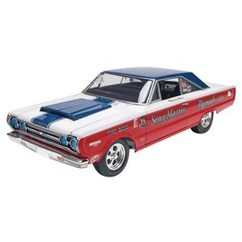 REVELL USA RMX 854916 1967 PLYMOUTH GTX 1/25 model kit