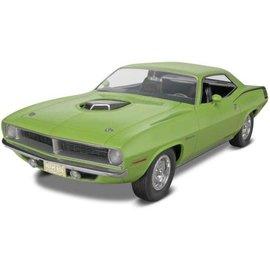 REVELL USA RMX 854268 1970 CUDA HEMI 1/25 model kit